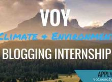 Voices of Youth: Applications Invited for Blogging Internships