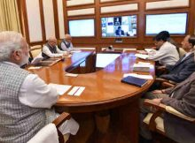 The Prime Minister, Shri Narendra Modi chairing seventeenth interaction through PRAGATI - the ICT-based, multi-modal platform for Pro-Active Governance and Timely Implementation, in New Delhi on February 22, 2017. (file photo)