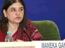 Minister of Women and Child Development, Maneka Sanjay Gandhi