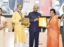 Ram Nath Kovind presenting the National Tourism Awards 2015-16, on the occasion of World Tourism Day, organised by the Ministry of Tourism, in New Delhi on September 27, 2017