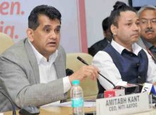 The CEO, NITI Aayog, Shri Amitabh Kant addressing at the launch of the Women Entrepreneurship Platform (WEP), on the International Women's Day, in New Delhi on March 08, 2018.