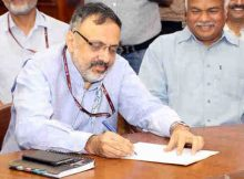 Rajiv Gauba takes over as Union Home Secretary, in New Delhi on August 31, 2017 (file photo). Courtesy: PIB