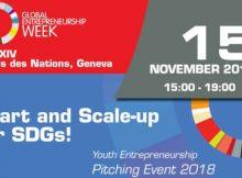 Youth Entrepreneurship Pitching Event