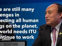 Houlin Zhao of China Re-elected as ITU Secretary-General