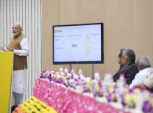The Prime Minister, Shri Narendra Modi addressing at the launch of the Support and Outreach Initiative for MSMEs, in New Delhi on November 02, 2018.