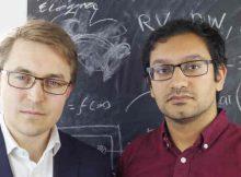 Left - Thomas Gatten, CEO, Growth Intelligence; right - Prashant Majmudar, CTO