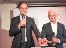 Dutch Prime Minister Rutte opens TechHub at Elsevier's headquarters in Amsterdam