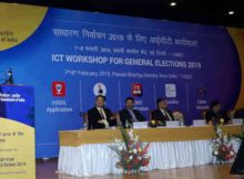 Chief Election Commissioner, Sunil Arora addressing the concluding session of the training workshop on ICT Application for General Elections 2019, in New Delhi on February 8, 2019. Photo: PIB