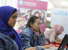 Technovation Coding Caravan. Photo: UN Women