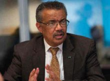 WHO Director-General Dr Tedros Adhanom Ghebreyesus. Photo: WHO