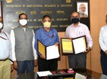 Digital India Corporation and the Indian Council of Agricultural Research signs MoU on June 9, 2021 to provide 'Demand Based Tele Agriculture Advisories' to farmers. Photo: PIB
